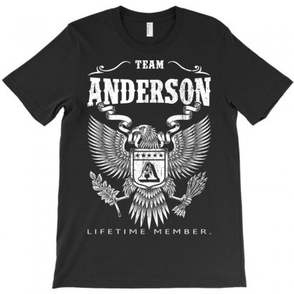Team Anderson Lifetime Member T-shirt Designed By Davidph