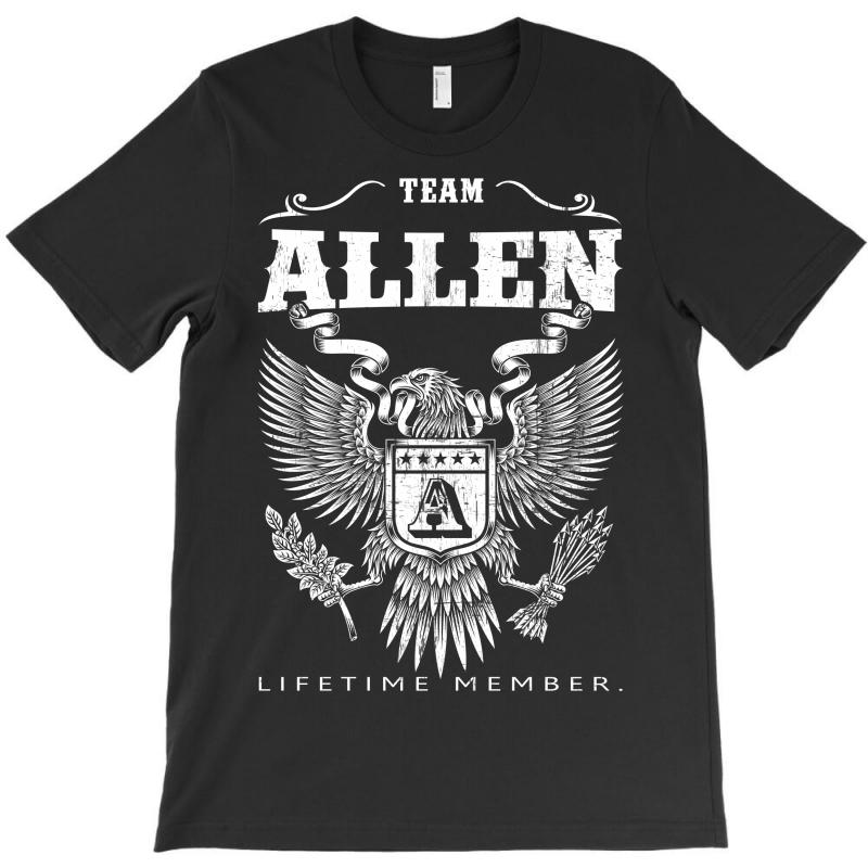 Team Allen Lifetime Member T-shirt | Artistshot