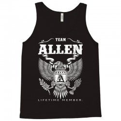 Team Allen Lifetime Member Tank Top | Artistshot