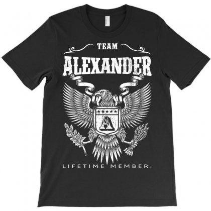 Team Alexander Lifetime Member T-shirt Designed By Davidph