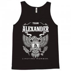 Team Alexander Lifetime Member Tank Top | Artistshot