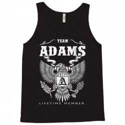Team Adams Lifetime Member Tank Top | Artistshot