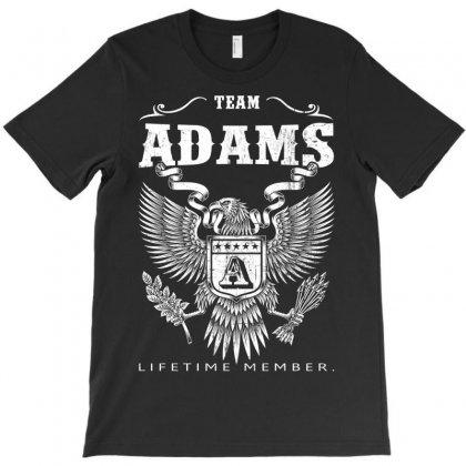 Team Adams Lifetime Member T-shirt Designed By Davidph