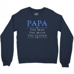 PAPA - Grandfather - granddad - Papaw B Crewneck Sweatshirt | Artistshot