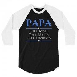 PAPA - Grandfather - granddad - Papaw B 3/4 Sleeve Shirt | Artistshot