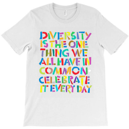 Diversity, Strength T-shirt Designed By Ria Amarzhani