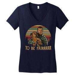 letterkenny tribute to be fair ceramic zipper Women's V-Neck T-Shirt   Artistshot