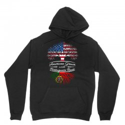American Grown with Portugues roots Unisex Hoodie | Artistshot