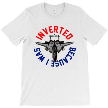 Because I Was Inverted Merch T-shirt Designed By Ria Amarzhani