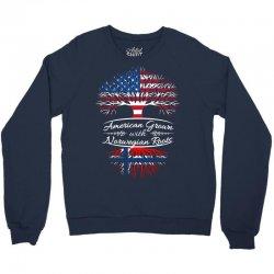 American Grown with Norwegian roots Crewneck Sweatshirt | Artistshot