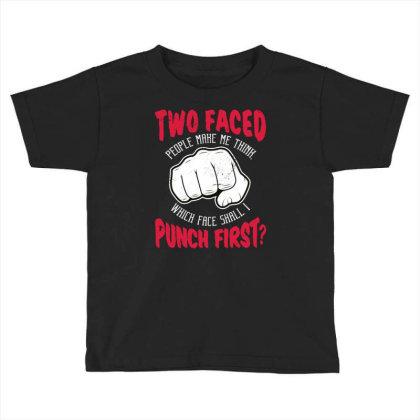 Punch Toddler T-shirt Designed By Panduart