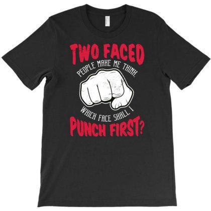 Punch T-shirt Designed By Panduart