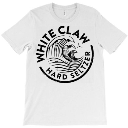 Distressed White Claw Hard T-shirt Designed By Schulz-12