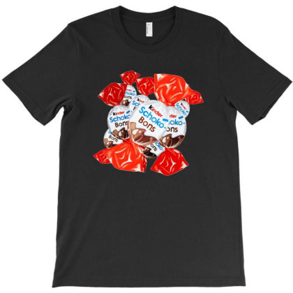 Delicious Schokobons Kinder Candy T-shirt Designed By Ria Amarzhani