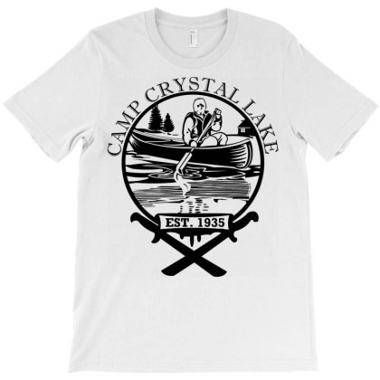 Camp Crystal Lake T-shirt Designed By Schulz-12