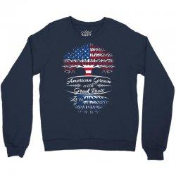 American Grown with Greek roots Crewneck Sweatshirt | Artistshot