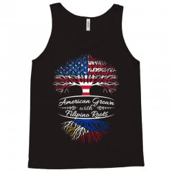 American Grown with Filipino roots Tank Top | Artistshot