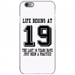 19th birthday life begins at 19 iPhone 6/6s Case | Artistshot