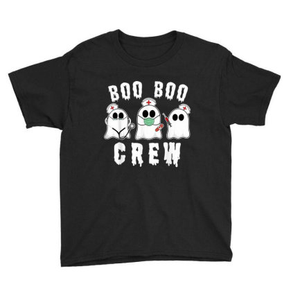 Boo Boo Crew Funny Nurse Halloween Ghost Costume Gift Youth Tee Designed By Conco335@gmail.com