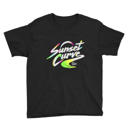 Julie And The Phantoms Sunset Curve Logo Youth Tee Designed By Conco335@gmail.com