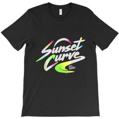 Julie And The Phantoms Sunset Curve Logo T-shirt Designed By Conco335@gmail.com