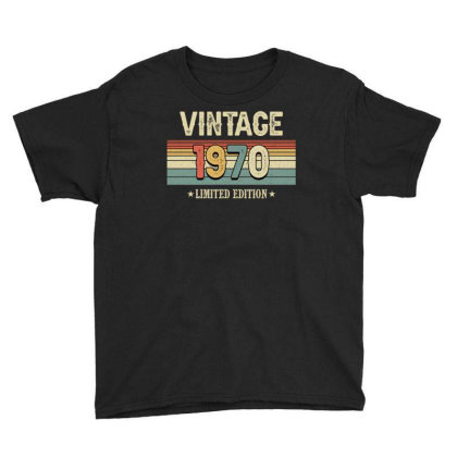Vintage 1970 Limited Edition Youth Tee Designed By Badaudesign