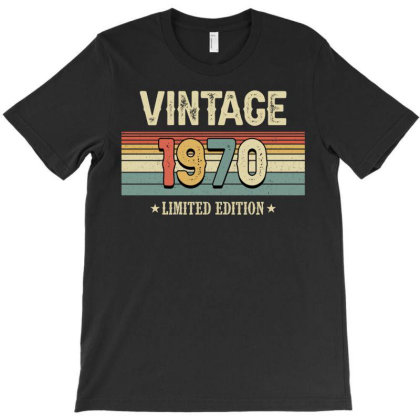 Vintage 1970 Limited Edition T-shirt Designed By Badaudesign
