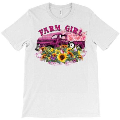 Farm Girl T-shirt Designed By Badaudesign