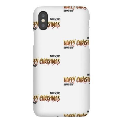 Happy Christmas Merch Iphonex Case Designed By Andrewstar