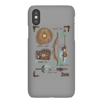 Zelda Breath Of The Wild Link Inventory Graphic Iphonex Case Designed By Conco335@gmail.com