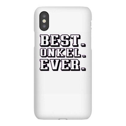 Best Onkel Ever Iphonex Case Designed By Alparslan Acar