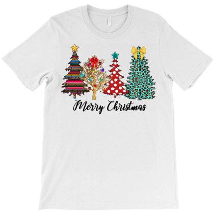 Christmas Tree T-shirt Designed By Badaudesign