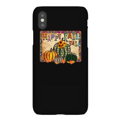 Happy Fall Yall Iphonex Case Designed By Badaudesign
