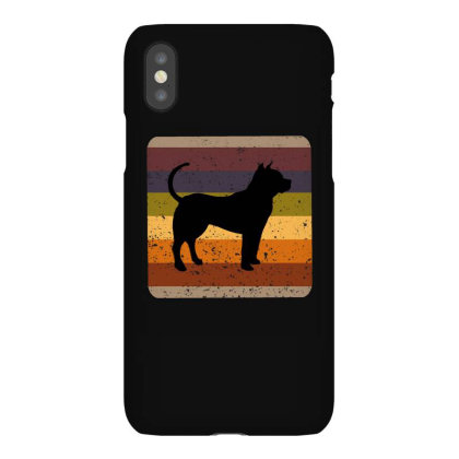 Youth 80s Retro Pit Bull Iphonex Case Designed By Ashlıcar