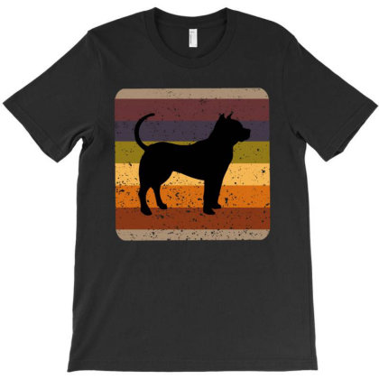 Youth 80s Retro Pit Bull T-shirt Designed By Ashlıcar