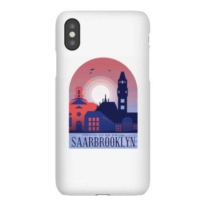 SaarbrÜcken Skyline Iphonex Case Designed By Panduart