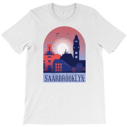 SaarbrÜcken Skyline T-shirt Designed By Panduart
