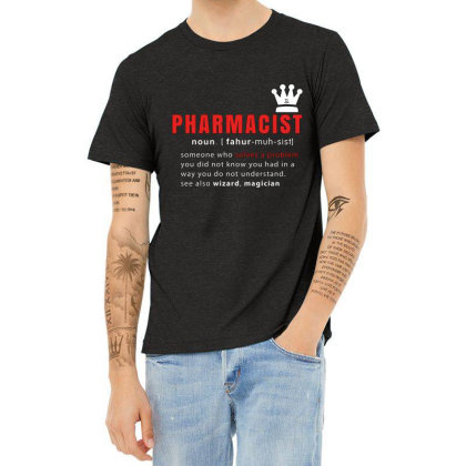 Pharmacist Is Solving Problems Heather T-shirt Designed By 1y-design