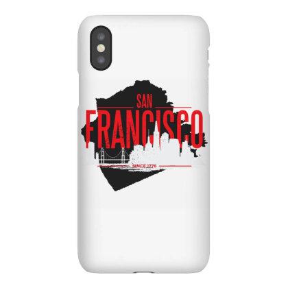 San Francisco Skyline Iphonex Case Designed By Panduart
