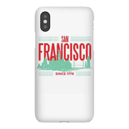 San Francisco Green Skyline Iphonex Case Designed By Panduart