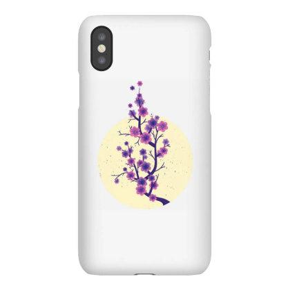 Sakura Cherry Blossom Iphonex Case Designed By Panduart
