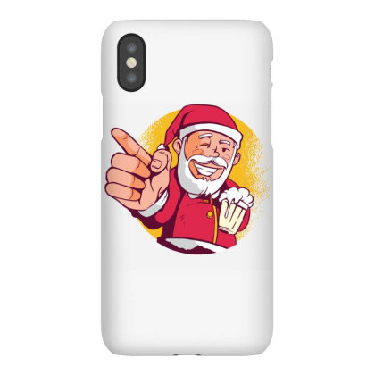 Santa Beer Iphonex Case Designed By Panduart