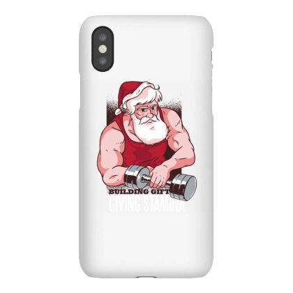 Santa At The Gym Iphonex Case Designed By Panduart