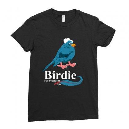 Birdie  Sanders Ladies Fitted T-shirt Designed By Rardesign