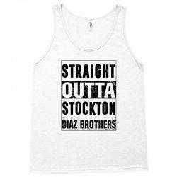 straight  outta stockton Tank Top | Artistshot