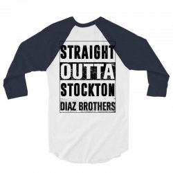 straight  outta stockton 3/4 Sleeve Shirt | Artistshot