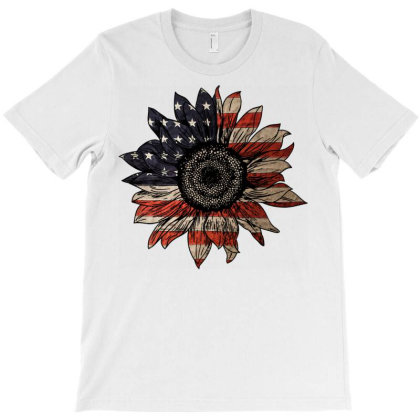American Sunflower License Plate T-shirt Designed By Schulz-12