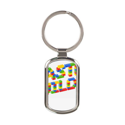 Master Builder Rectangle Keychain Designed By Schulz-12