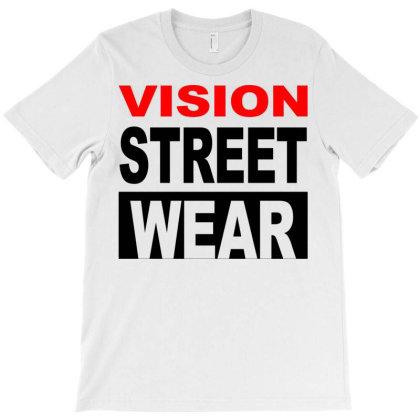 Vision Skateboards T-shirt Designed By Schulz-12