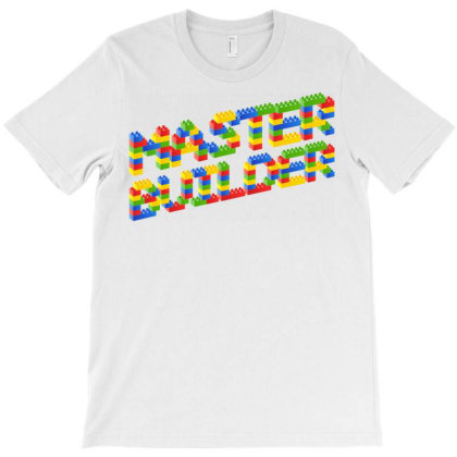 Master Builder T-shirt Designed By Schulz-12